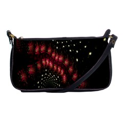 Background Texture Pattern Shoulder Clutch Bags