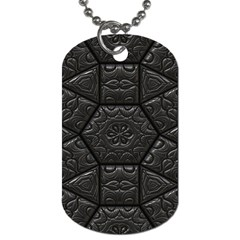 Emboss Luxury Artwork Depth Dog Tag (one Side)