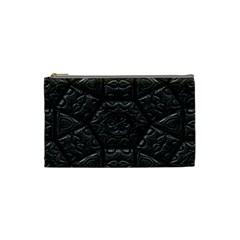Emboss Luxury Artwork Depth Cosmetic Bag (small)