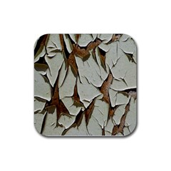 Dry Nature Pattern Background Rubber Coaster (square)