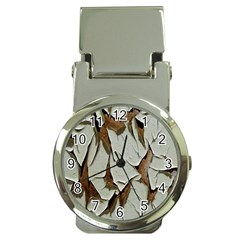 Dry Nature Pattern Background Money Clip Watches