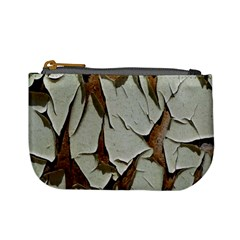Dry Nature Pattern Background Mini Coin Purses