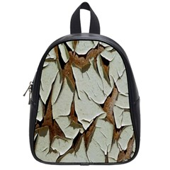 Dry Nature Pattern Background School Bag (small)