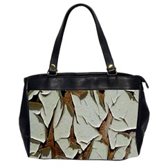 Dry Nature Pattern Background Office Handbags (2 Sides)