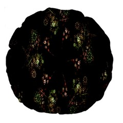 Fractal Art Digital Art Large 18  Premium Round Cushions