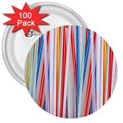 Background Decorate Colors 3  Buttons (100 Pack)