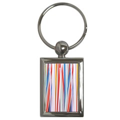 Background Decorate Colors Key Chains (rectangle)