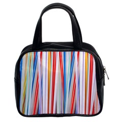 Background Decorate Colors Classic Handbags (2 Sides)