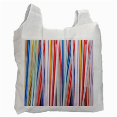 Background Decorate Colors Recycle Bag (one Side)