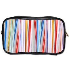 Background Decorate Colors Toiletries Bags 2 Side