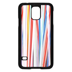 Background Decorate Colors Samsung Galaxy S5 Case (black)