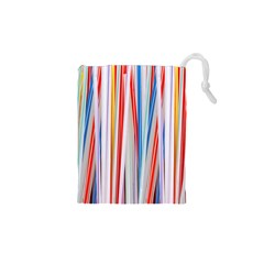 Background Decorate Colors Drawstring Pouches (xs)