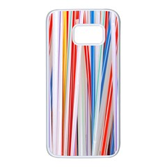 Background Decorate Colors Samsung Galaxy S7 White Seamless Case