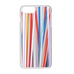 Background Decorate Colors Apple Iphone 7 Plus Seamless Case (white)