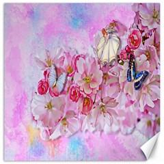 Nice Nature Flowers Plant Ornament Canvas 12  X 12