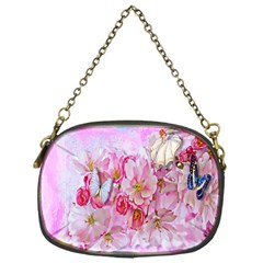 Nice Nature Flowers Plant Ornament Chain Purses (one Side)