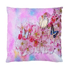 Nice Nature Flowers Plant Ornament Standard Cushion Case (two Sides)
