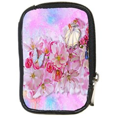 Nice Nature Flowers Plant Ornament Compact Camera Cases