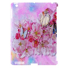 Nice Nature Flowers Plant Ornament Apple Ipad 3/4 Hardshell Case (compatible With Smart Cover)