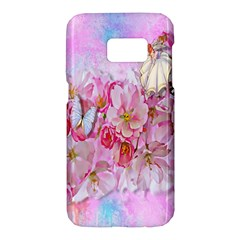 Nice Nature Flowers Plant Ornament Samsung Galaxy S7 Hardshell Case