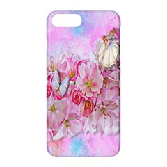 Nice Nature Flowers Plant Ornament Apple Iphone 8 Plus Hardshell Case