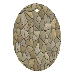 Tile Steinplatte Texture Ornament (oval)