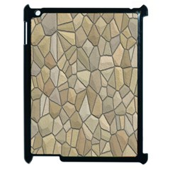 Tile Steinplatte Texture Apple Ipad 2 Case (black)