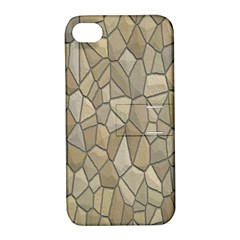 Tile Steinplatte Texture Apple Iphone 4/4s Hardshell Case With Stand