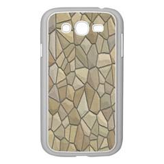 Tile Steinplatte Texture Samsung Galaxy Grand Duos I9082 Case (white)