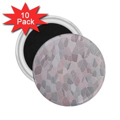 Pattern Mosaic Form Geometric 2 25  Magnets (10 Pack)