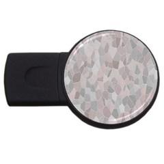 Pattern Mosaic Form Geometric Usb Flash Drive Round (4 Gb)