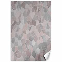 Pattern Mosaic Form Geometric Canvas 24  X 36