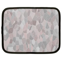 Pattern Mosaic Form Geometric Netbook Case (xxl)