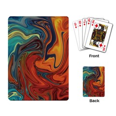 Creativity Abstract Art Playing Card
