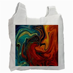 Creativity Abstract Art Recycle Bag (one Side)