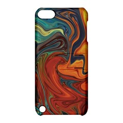 Creativity Abstract Art Apple Ipod Touch 5 Hardshell Case With Stand