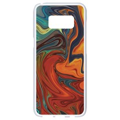 Creativity Abstract Art Samsung Galaxy S8 White Seamless Case