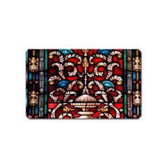 Decoration Art Pattern Ornate Magnet (name Card)