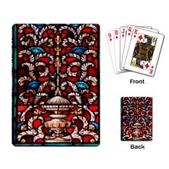 Decoration Art Pattern Ornate Playing Card