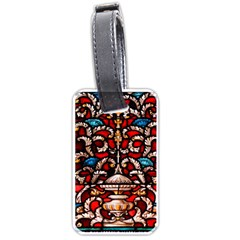 Decoration Art Pattern Ornate Luggage Tags (two Sides)