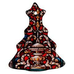 Decoration Art Pattern Ornate Christmas Tree Ornament (two Sides)
