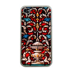 Decoration Art Pattern Ornate Apple Iphone 4 Case (clear)