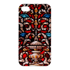 Decoration Art Pattern Ornate Apple Iphone 4/4s Hardshell Case