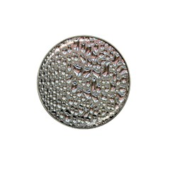 Droplets Pane Drops Of Water Hat Clip Ball Marker (4 Pack)