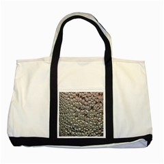Droplets Pane Drops Of Water Two Tone Tote Bag