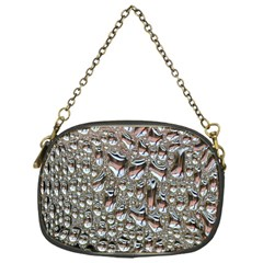 Droplets Pane Drops Of Water Chain Purses (one Side)