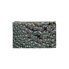 Droplets Pane Drops Of Water Cosmetic Bag (small)