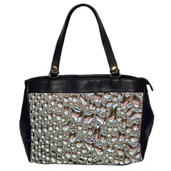 Droplets Pane Drops Of Water Office Handbags (2 Sides)
