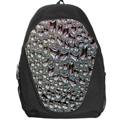 Droplets Pane Drops Of Water Backpack Bag