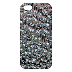 Droplets Pane Drops Of Water Apple Iphone 5 Premium Hardshell Case